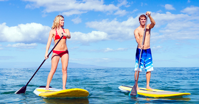 1 Hour Paddleboard Rental