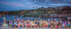 Neon Paddle at Lake Las Vegas