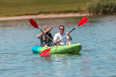 1 Hour Tandem Kayak Rental for 2 People