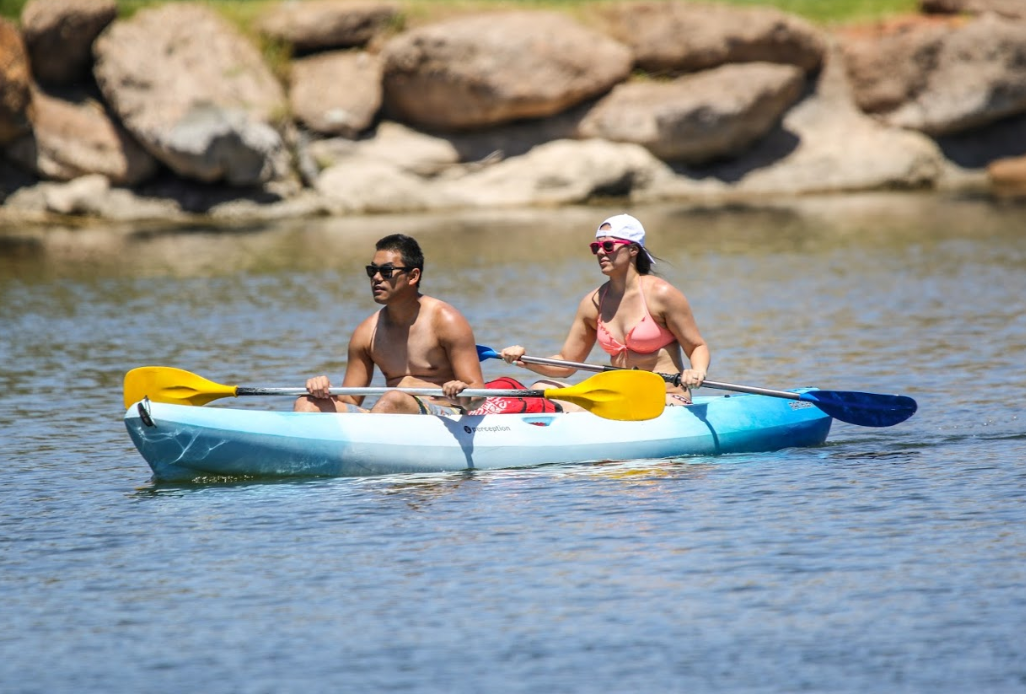 2 Hour Tandem Kayak Rental for 2 People
