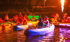 Neon Kayak Ticket
