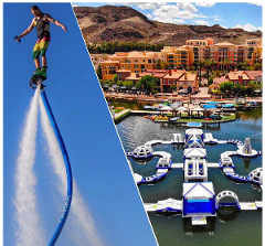 Aqua Park & Water Jetpack Package