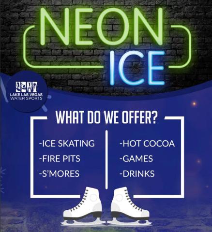 Ice Skating at Lake Las Vegas