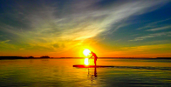 2 hour Sunset Paddle Event (Choice of paddleboard, kayak, glass kayak, pedal boat, water bike)