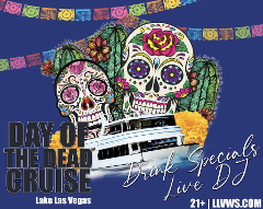 Day Of The Dead Cruise at Lake Las Vegas