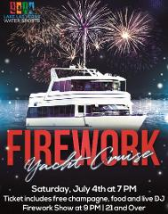Firework Cruise at Lake Las Vegas