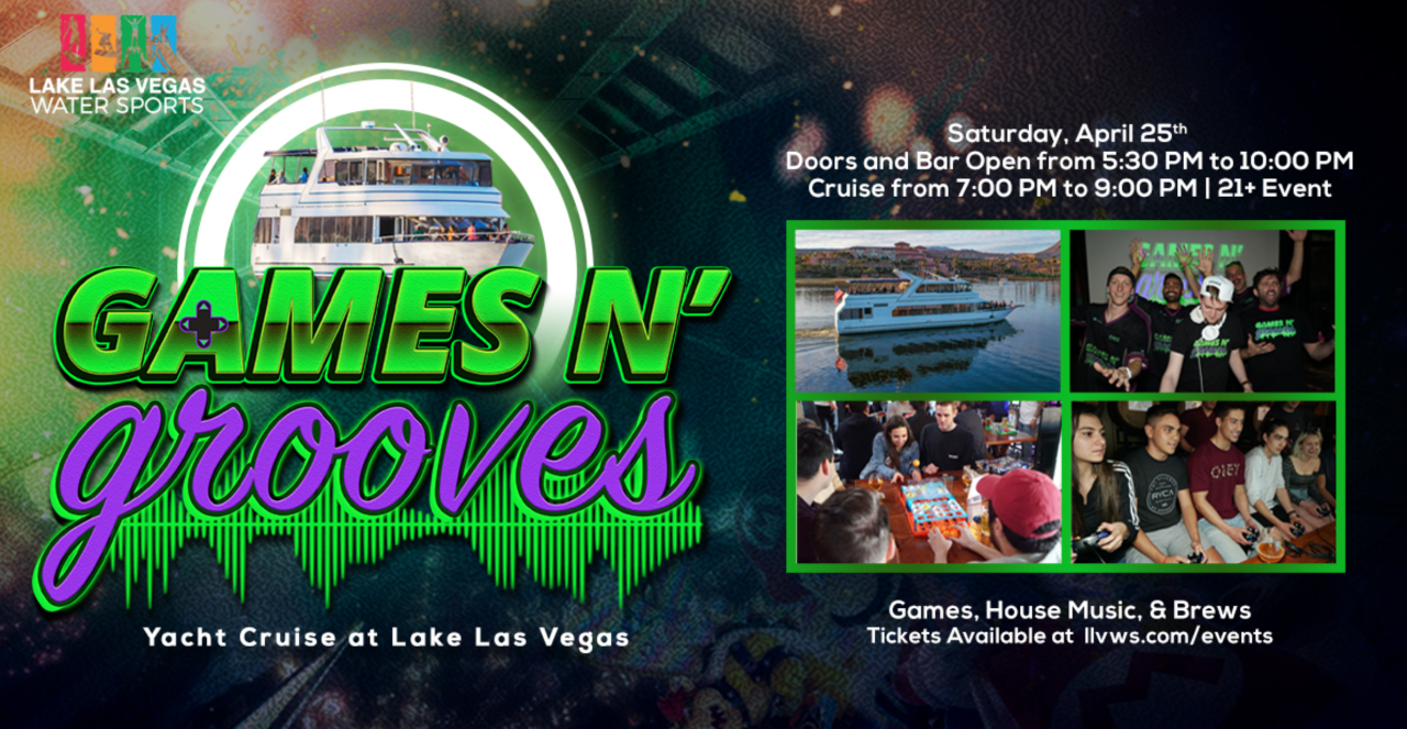 Games n' Grooves Yacht Cruise