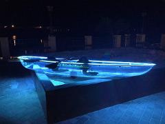 Neon Paddle 2 Person VIP LED Glass Kayak