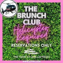 The Brunch Club at Lake Las Vegas: Free Helicopter Ride