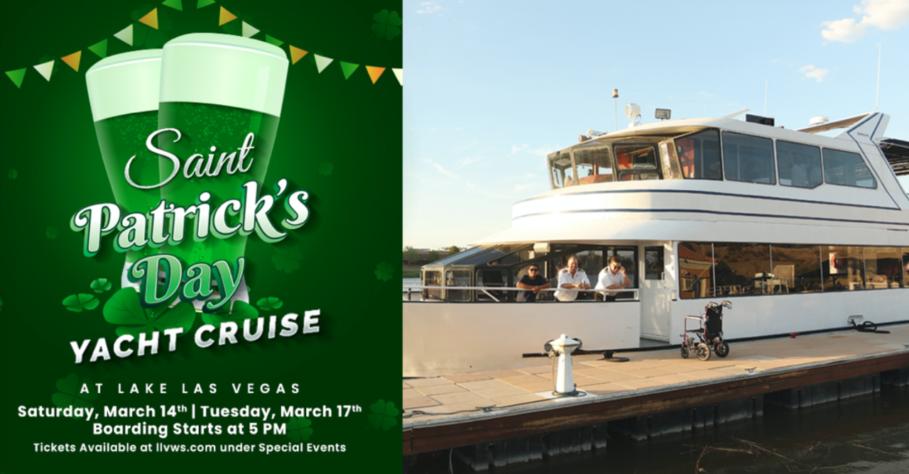 St. Patricks Day Yacht Cruise at Lake Las Vegas