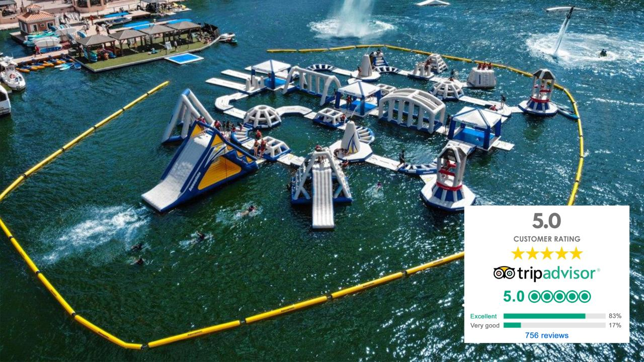 Combo Season Pass: Aqua Park/Paddleboard, Kayak, Water Bike Season Pass (March 1 - Oct 1)