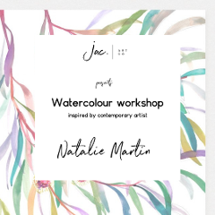 Watercolour Workshop by Jacqui Mason