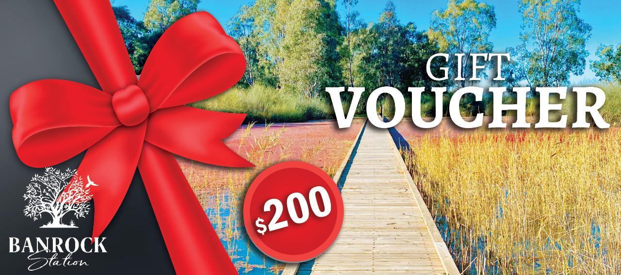 Banrock Station $200 Gift Voucher