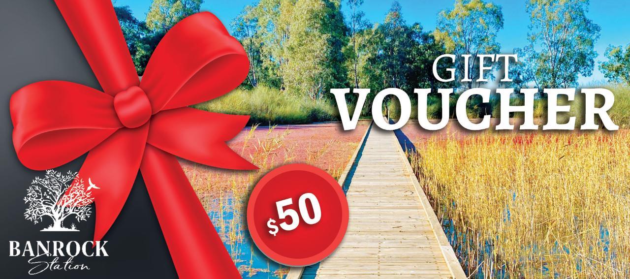 Banrock Station $50 Gift Voucher