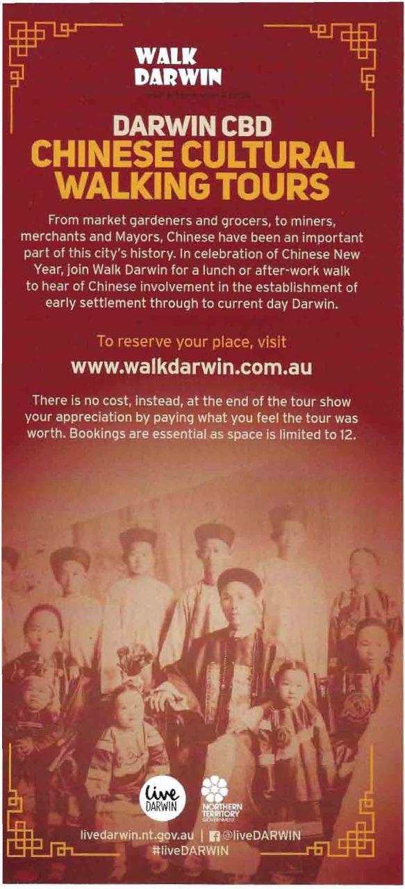 Chinese Cultural Walk