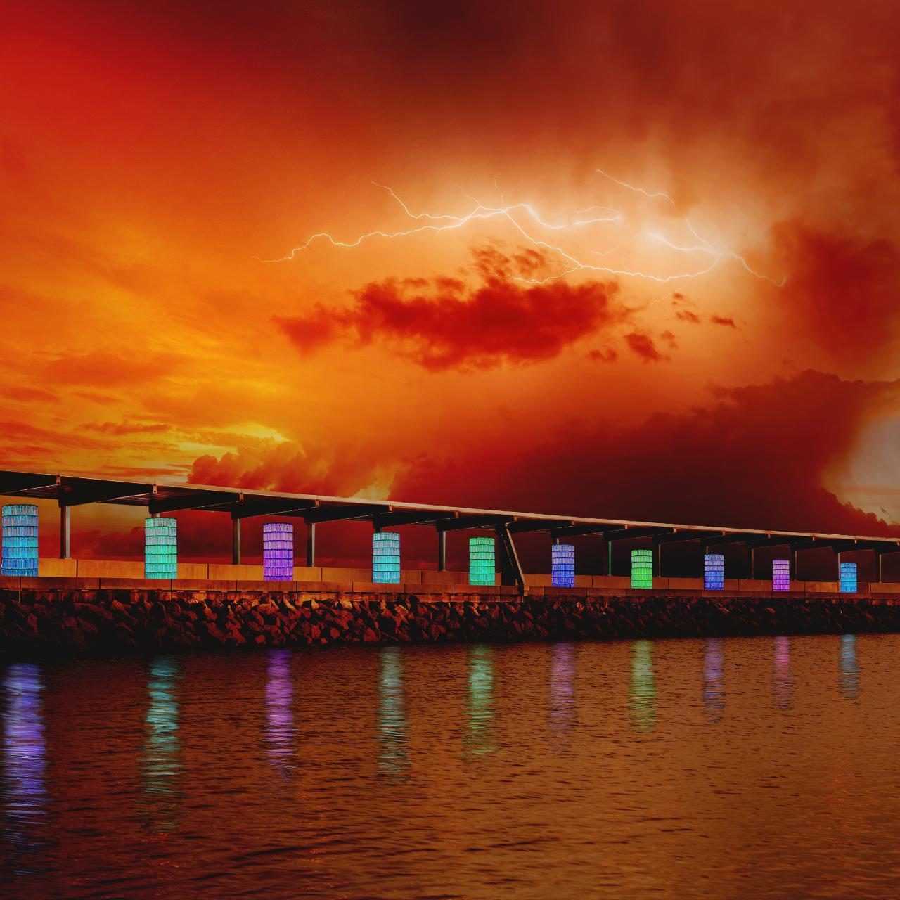 Tropical Light Artscapes