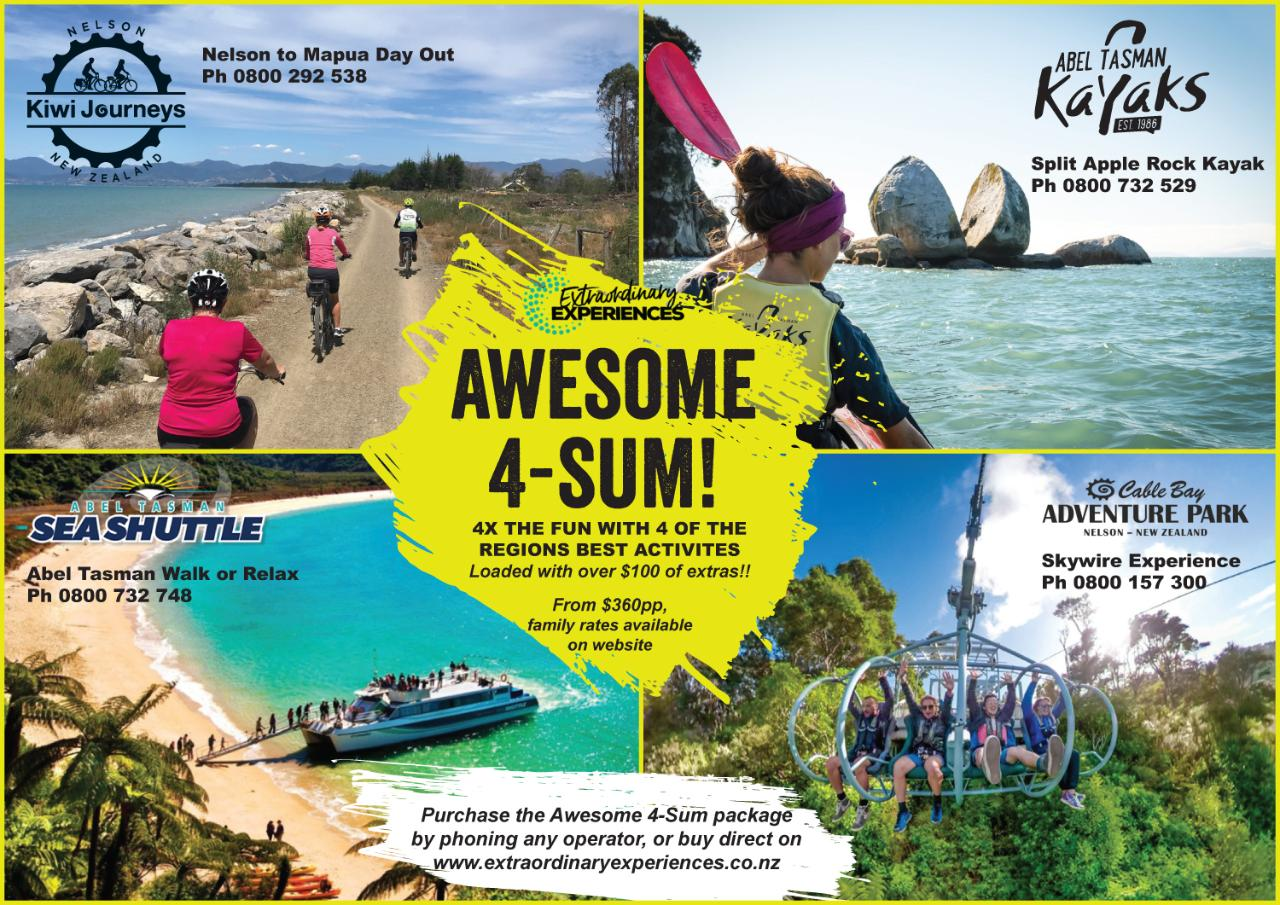 Awesome 4-Sum 4 Day Package
