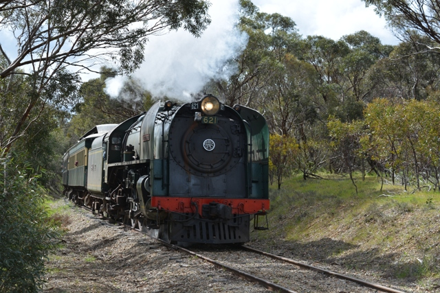 South Coast Wine Train - Departing from Mount Barker