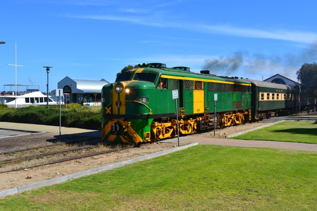 South Coast Wine Train - Summer Season from Mount Barker