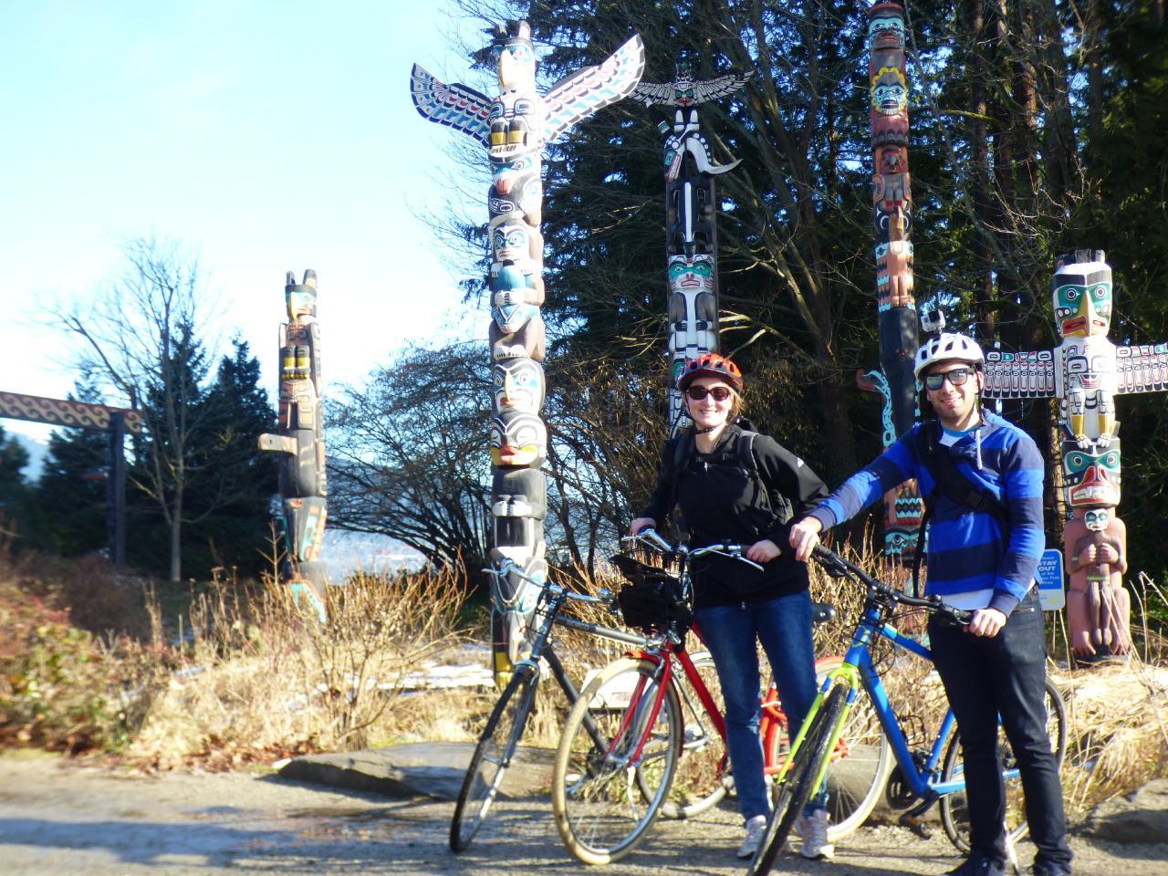 Stanley Park Rainforest bike tour - Morning