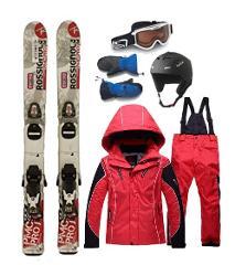 KIDS Ski / Snowboard Bundle Rentals - Including Boots + Bindings + Clothing Rentals