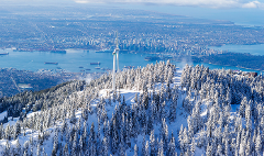 Grouse Mountain - Ski set & lift Package (Ski Rental + Lift)
