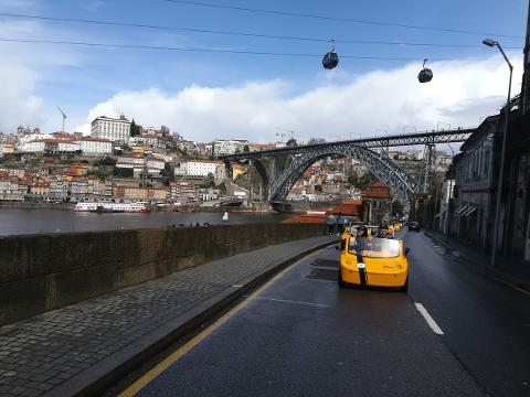 GoCar Tour -  2h Historic Downtown, Porto Wine Lodges & Lapa