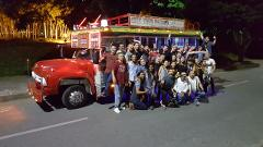 Selina's free Citytour by Chiva (Traditional Colombian Bus)