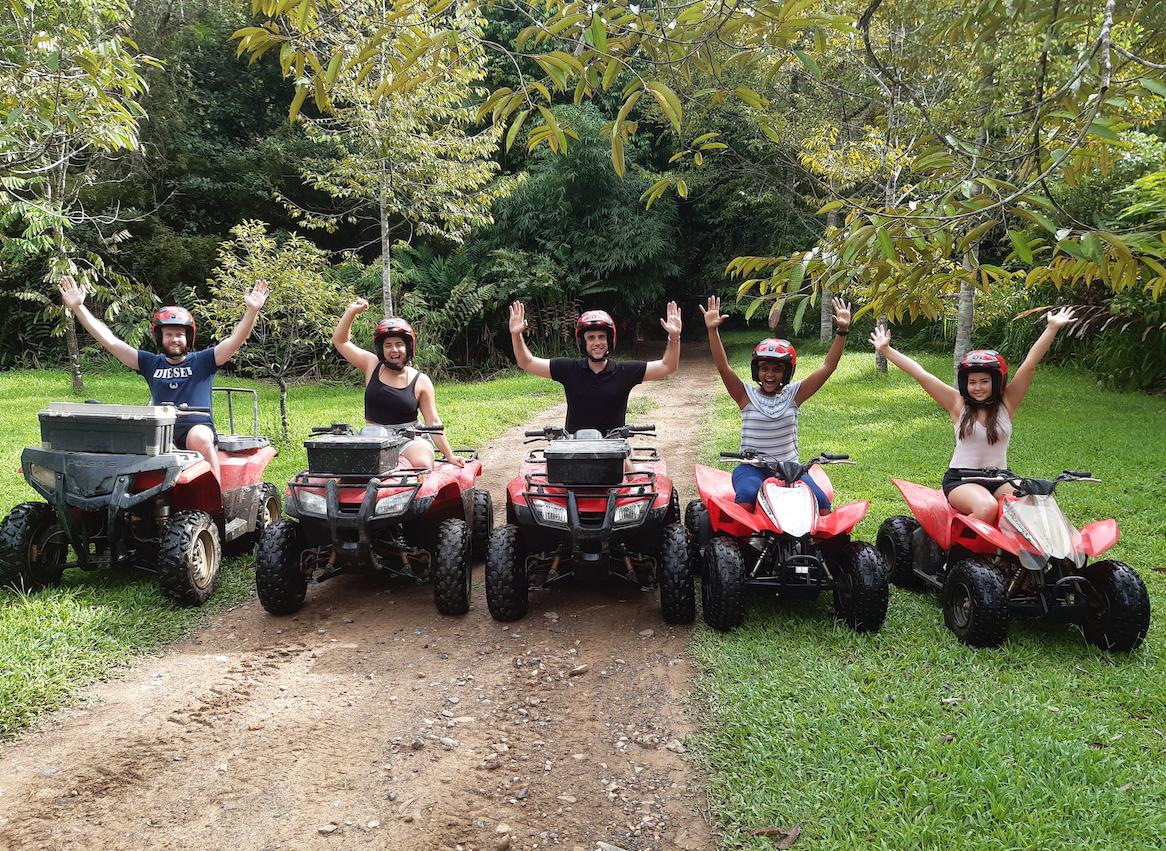 2  hour rainforest ATV tour