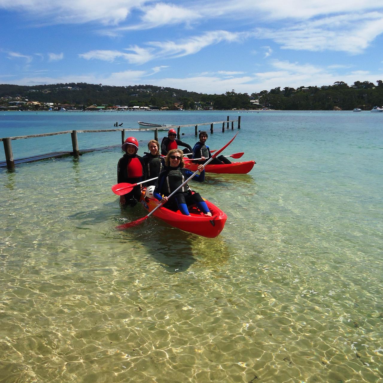 Single Kayak Hire Fishpen