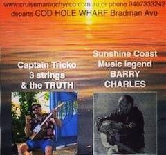 OZ DAY Barry Charles & Cap'n Tricko Blues & Ballads Morning Cruise