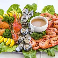 Seafood Lunch Cruise 1st Sat of month.