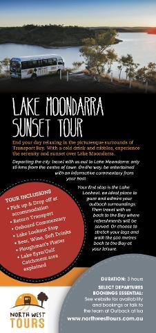 Lake Moondarra Sunset Tour