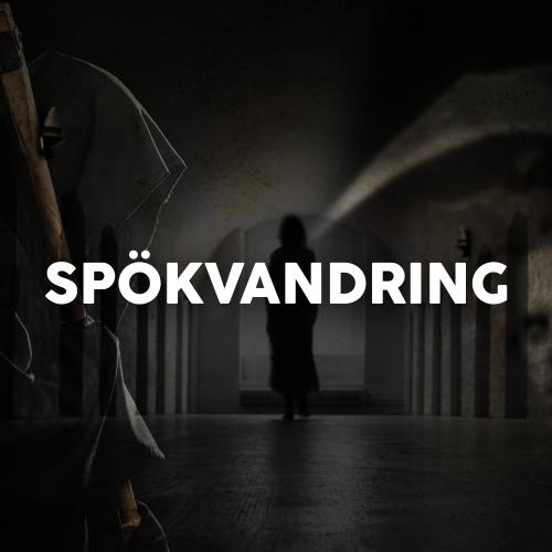 Spökvandring i Vasaborgen - Uppsala slott GRUPPBOKNING