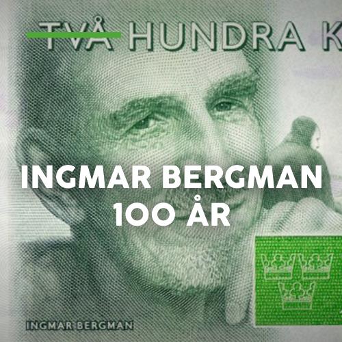 Stadsvandring - Ingmar Bergman 100år