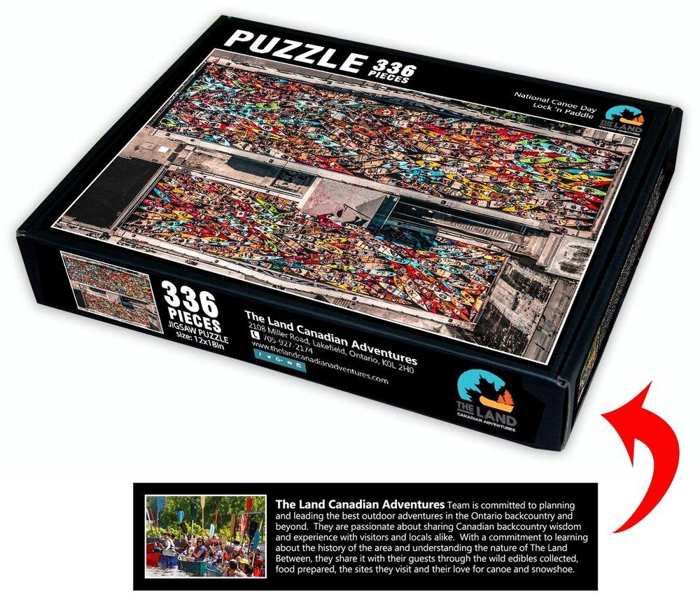 Lock 'n Paddle Puzzle