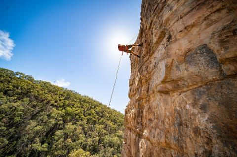 Rock Climb & Abseil at Morialta Gift Card