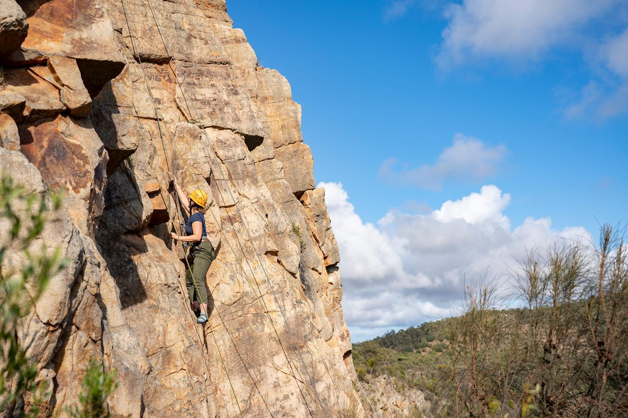 Rock Climb & Abseil Onkaparinga