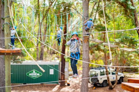 Southern Adventure Hub - Rock Climb & Ropes Course
