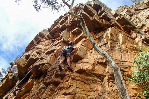 Rock Climb & Abseil at Morialta Gift Card