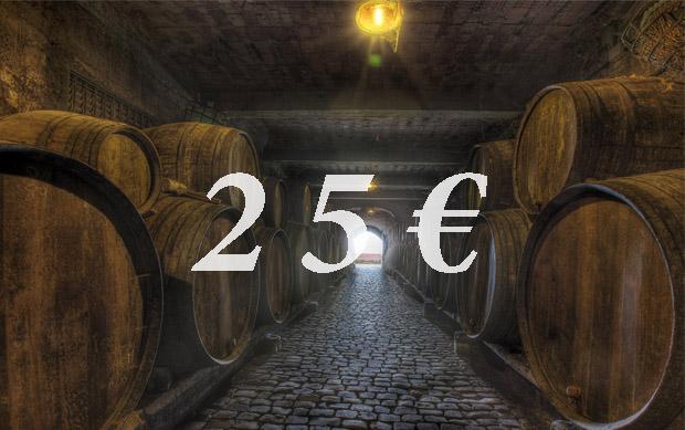 Vale Regalo 25€  Vive Monje