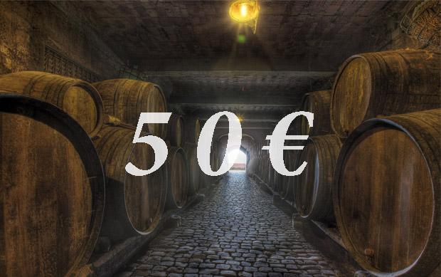 Vale Regalo 50€  Vive Monje