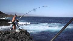 Your fishing time in north Tenerife