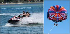Combo #1 Jetski & Parasail Package *SAVE $25