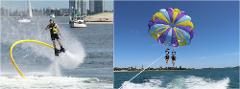 Combo #3 Flyboard & Parasail Package *SAVE $38