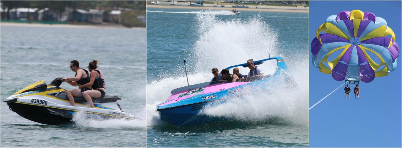 Combo #4 Jetski, Parasail, Jetboat Package *SAVE $25