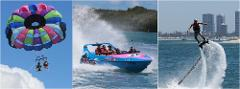 Combo #5 Jetboat, Parasail, Flyboard package *SAVE $48