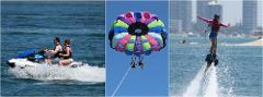 Combo #6 Jetski, Parasail, Flyboard Package *SAVE $33