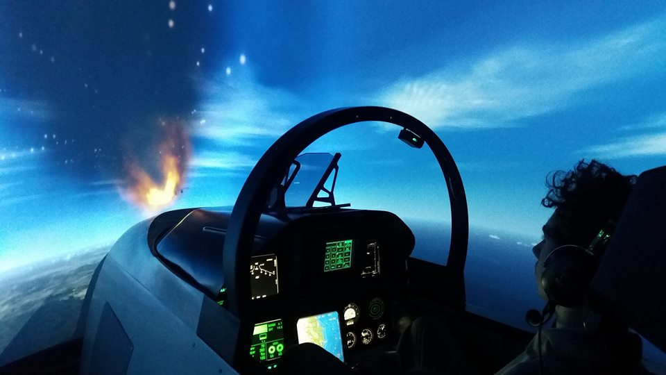 Combat Fighter Jet - F/A-18 - 60 minutes Flight Experience