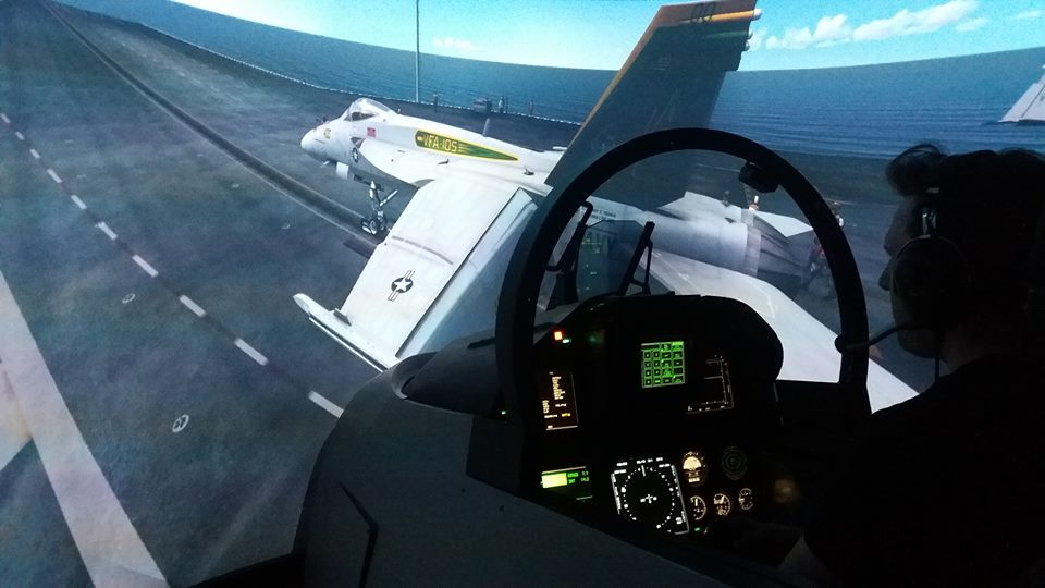 F/A-18 Combat Fighter - 30 minutes - Flight Sim Experience
